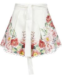 Zimmermann Bellitude Floral Shorts - Multicolour