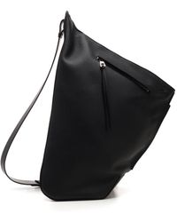 Loewe One Shoulder Backpacks - Black