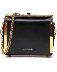 Alexander McQueen Chain Strap Box Bag - Black