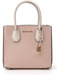 MICHAEL Michael Kors Mercer Tote Bag - Pink