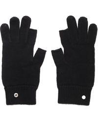 Rick Owens Gethsemane Touchscreen Gloves - Black