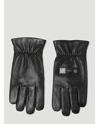 OAMC Aurora Logo Patch Gloves - Black