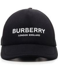 Burberry Logo Cap - Black