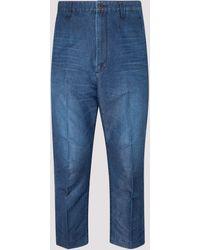 Junya Watanabe Straight Leg Jeans - Blue
