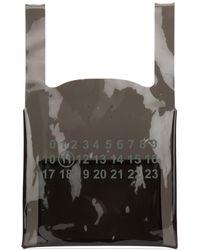 Maison Margiela Numbers Shopper Tote Bag - Black
