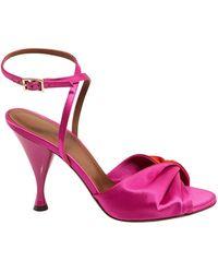 L'Autre Chose Two-tone Strappy Sandals - Multicolour