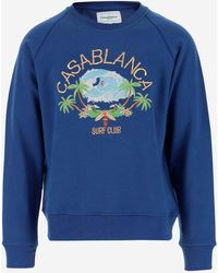 CASABLANCA Sweaters - Blue