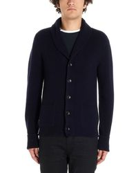 Tom Ford Ribbed Cardigan - Blue