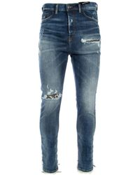 DIESEL Distressed-effect Jeans - Blue