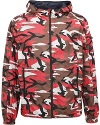 Prada Reversible Camouflage Print Jacket - Multicolour
