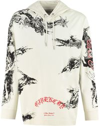 Givenchy Gothic Hooded T-shirt - Multicolor