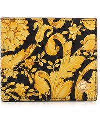 Versace Baroque Print Wallet - Multicolour