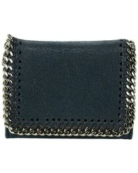 Stella McCartney Small Falabella Wallet - Blue
