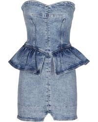 Isabel Marant - Sleeveless Mini Dress - Lyst