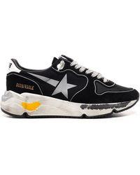 Golden Goose Deluxe Brand Running Sole Low-top Sneakers - Black