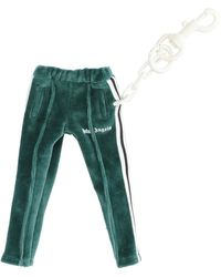 Palm Angels Track Pants Keyring - Green