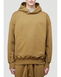 A_COLD_WALL* * Dissection Hooded Sweatshirt - Green