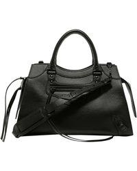 Balenciaga Neo Classic Medium Top Handle Bag - Black