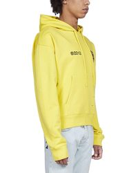 Off-White c/o Virgil Abloh Tech Marker Arrows Printed Hoodie - Yellow