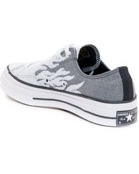 Converse Archive Flames Chuck Taylor All Star 70 Sneakers - Grey