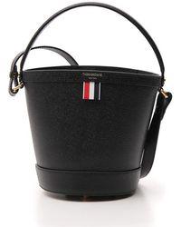 Thom Browne Sand Bucket Bag - Black