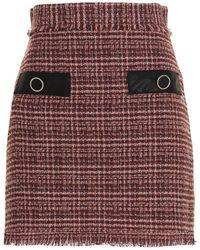 Pinko 'goldmud' Skirt - Red