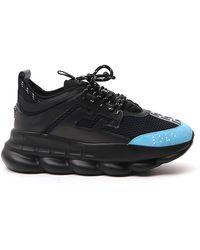 Versace Chain Reaction Sneaker - Black