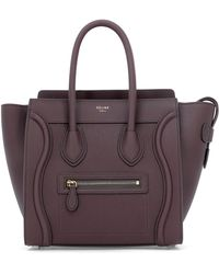 Céline - Micro Luggage Handbag - Lyst