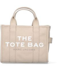 Marc Jacobs The Mini Traveller Tote Bag - Natural