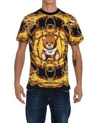 Moschino Teddy Print Crewneck T-shirt - Multicolour