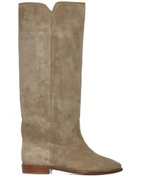 Isabel Marant Cleave Suede Boots - Multicolour