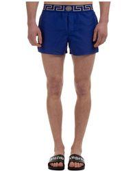 Versace Trunks Swimsuit - Blue