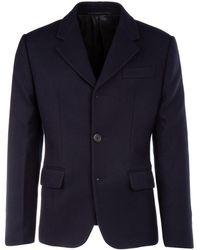 Prada midnight Blue Wool Blazer