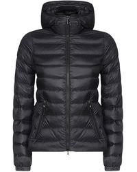 Moncler Padded Hooded Jacket - Black