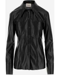 Nanushka Shirts - Black