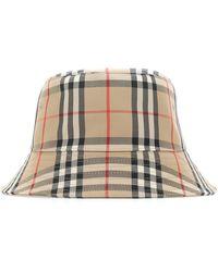Burberry Vintage Check Bucket Hat - Multicolour