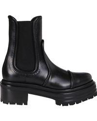 Pierre Hardy Xanadu Panelled Boots - Black