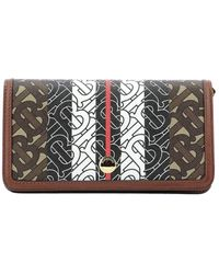 Burberry - Monogram Striped Phone Wallet - Lyst