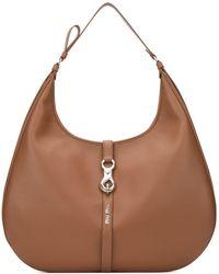 Miu Miu Hobo Shoulder Bag - Brown