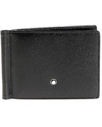Montblanc Meisterstück Money Clip Wallet - Black