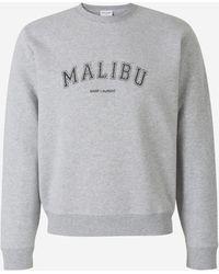 Saint Laurent Malibu Sweatshirt - Grey