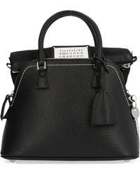Maison Margiela 5ac Mini Tote Bag - Black