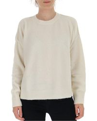 Marni - Knitted Crewneck Sweater - Lyst