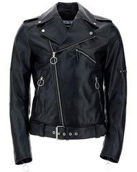Off-White c/o Virgil Abloh Biker Jacket - Black