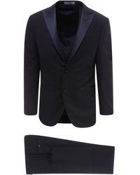 Corneliani Three-piece Tuxedo - Blue