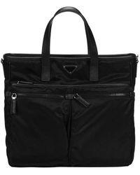 Prada - Nylon Briefcase - Lyst