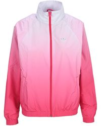 adidas Originals Adicolor 3d Trefoil Track Jacket - Pink