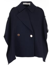 See By Chloé - Cape Coat - Lyst