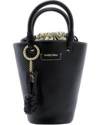 See By Chloé Small Cecilya Bucket Bag - Black