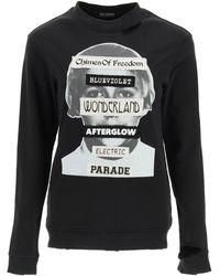 Raf Simons Chimes Of Freedom Sweatshirt - Black